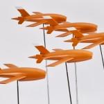 A fleet of drones